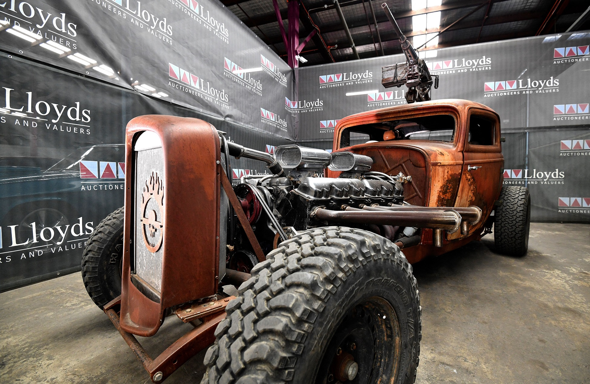 Subastan autos de Mad Max Furia en el camino_ foto AFP
