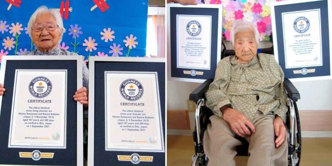 Abuelas gemelas imponen récord como las más longevas del mundo