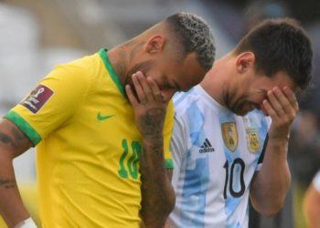 Brasil vs Argentina quedó suspendido