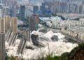 La impresionante demolición de edificios en China