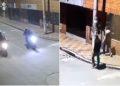 Cámaras de seguridad captan a ladrones robando a otros delincuentes
