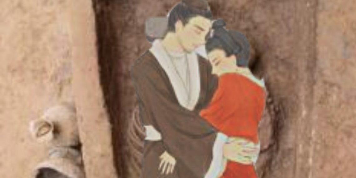 hallan restos de una pareja abrazada de hace 1.500 años en China