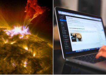 tormenta solar afecta internet