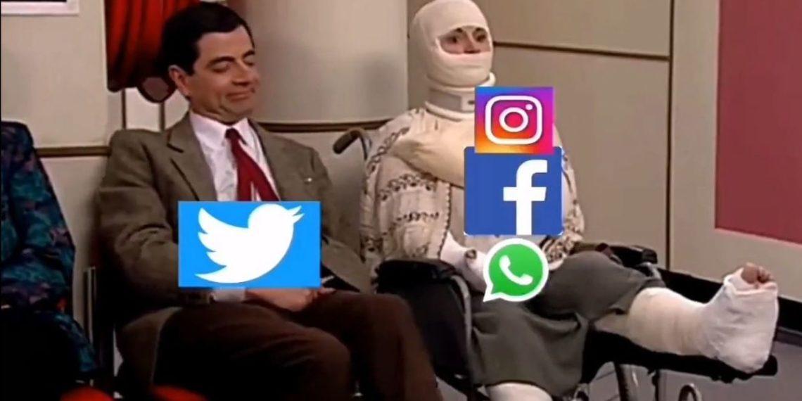 Los internautas sacaron lo mejor de su creatividad para hacer los mejores memes con la caída de Facebook. Foto: Redes sociales