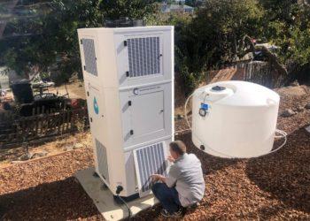 Agua a partir del aire, el dispositivo que ayudaría a enfrentar sequía