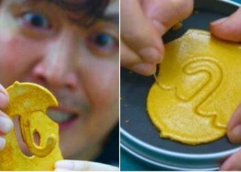 El dulce coreano 'dalgona candy' se ha vuelto popular con la serie El juego del Calamar. Foto: Netflix