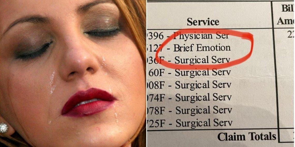 Mujer denuncia que un hospital le cobró por llorar durante una operación