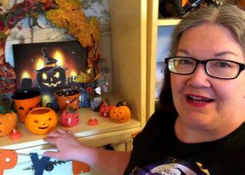 Michelle Carlbert, ha sido apodada como la 'Reina del Halloween
