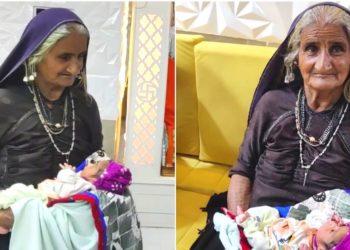 Mujer de 70 años da a luz a su primer bebé